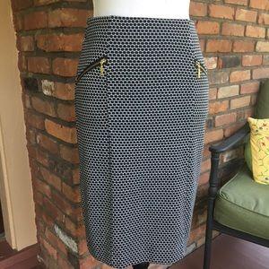 ALFANI Zipper Pencil Skirt